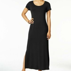 Style&CO PXL Black Shift Dress 6AP85